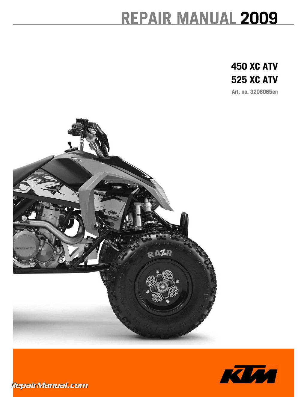 hight resolution of 2009 ktm 450 525 xc atv repair manual atv wiring schematics atv repair diagram