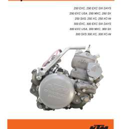 2004 2010 ktm 250 300 two stroke printed motorcycle service manual bmw engine diagram ktm 250 engine diagram [ 1024 x 1325 Pixel ]