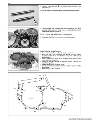 2004 – 2010 KTM 250 300 Two Stroke Printed Motorcycle Service Manual