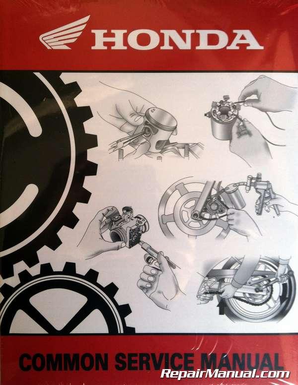 Honda Motorcycle Repair Information