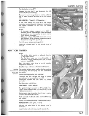 20132015 Honda CBR500 CB500 Motorcycle Service Manual