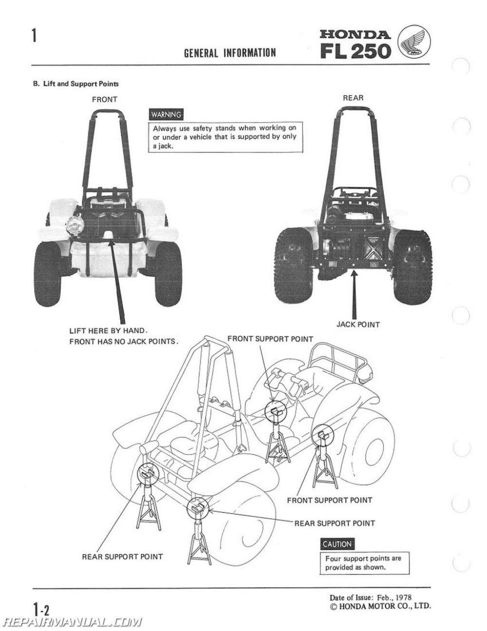 medium resolution of 1977 1984 fl250 honda odyssey service manual 2012 honda odyssey wiring diagram for a honda odyssey atv wiring diagram