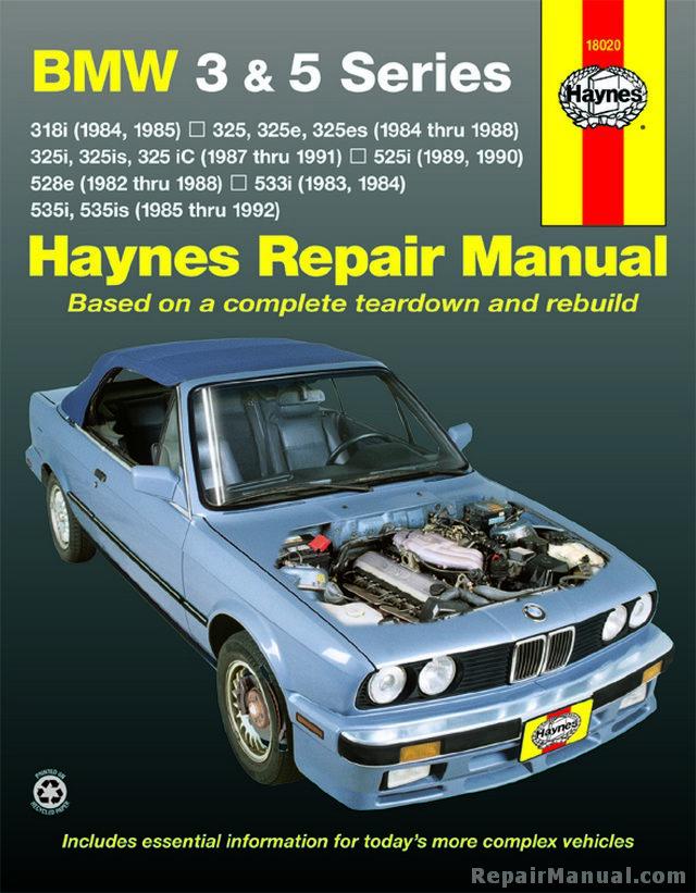 Bmw 3 And 5 Series Service And Repair Manual