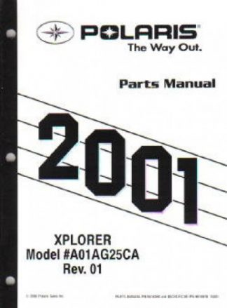 2003-2004 Polaris Predator 500 Service Manual