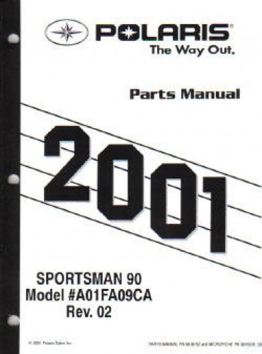 polaris sportsman 90 parts diagram how to show primary key in er 2001 manual official
