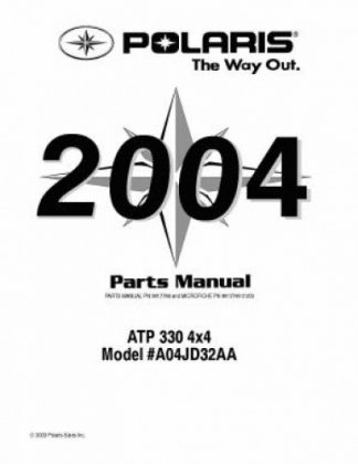 2004 Polaris ATP 330 4×4 Parts Manual