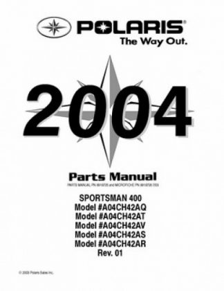 2004 Polaris TRAIL BOSS 330 Parts Manual
