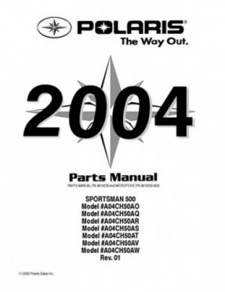 2004 Polaris Sportsman 400 500 ATV Service Manual