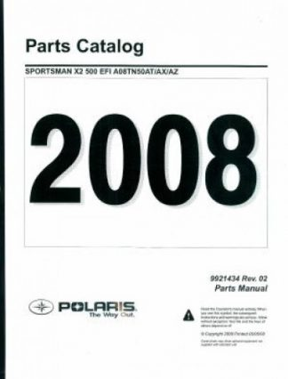 2008 Polaris Ranger RZR 800 Side by Side Service Manual