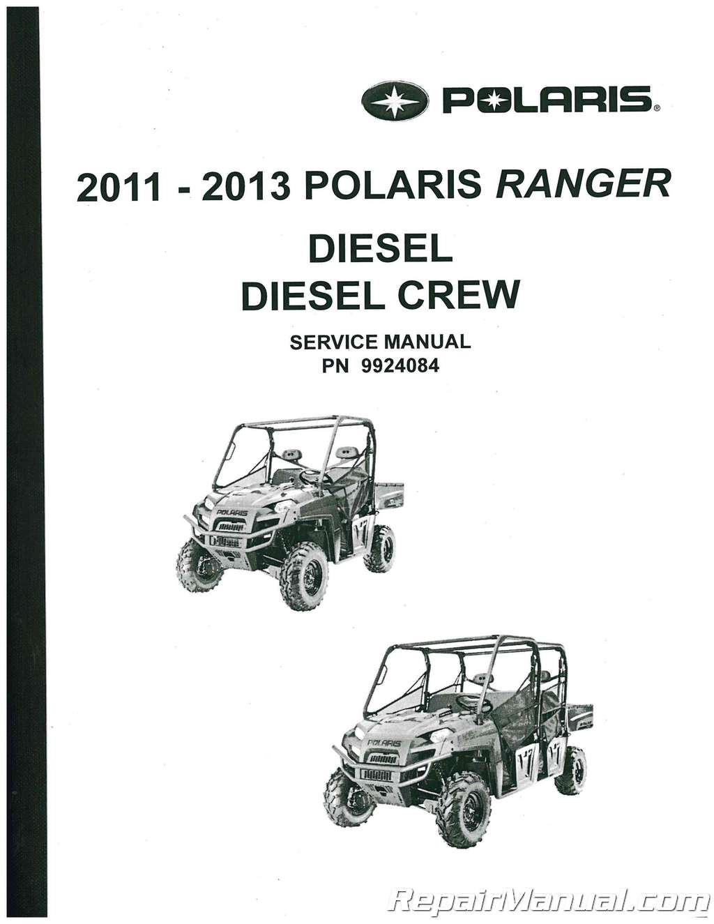 Polaris Rangersel Crew Utv Service Manual