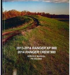 2013 2014 polaris ranger xp 900 2014 ranger crew 900 side by side service manual [ 1024 x 1325 Pixel ]