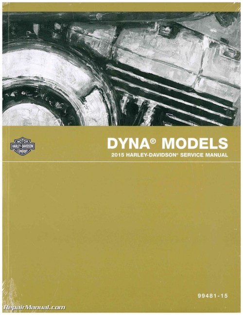small resolution of 2015 harley davidson dyna official printed factory motorcycle service manual