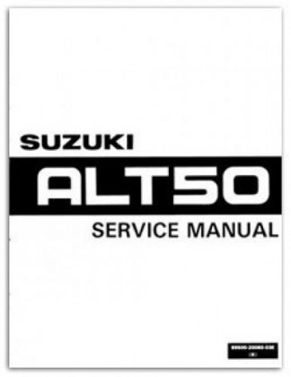 Suzuki ALT50 Manual Trailbuddy 1983-1984