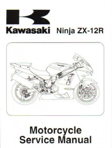 2002-2006 Kawasaki ZX1200A R Motorcycle Service Manual