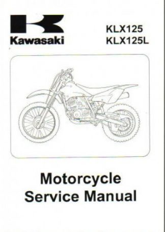 2003-2006 Kawasaki KLX125LB1 Motorcycle Repair Manual