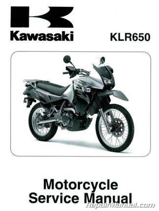 2001-2008 Kawasaki KX85 KX100 Motorcycle Service Manual