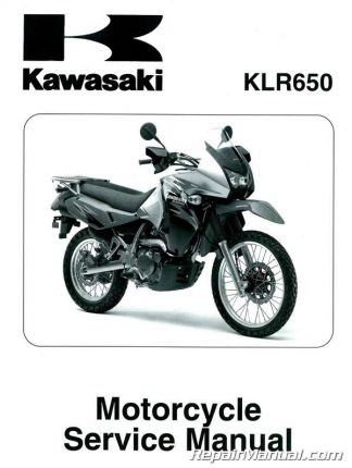 2008-2011 Kawasaki KL650E KLR650 Motorcycle Service Manual
