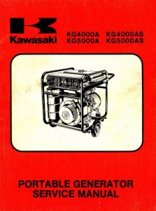 kawasaki wiring diagrams taotao 50cc diagram kg4000a kg4000as kg5000a kg5000as portable generator service manual