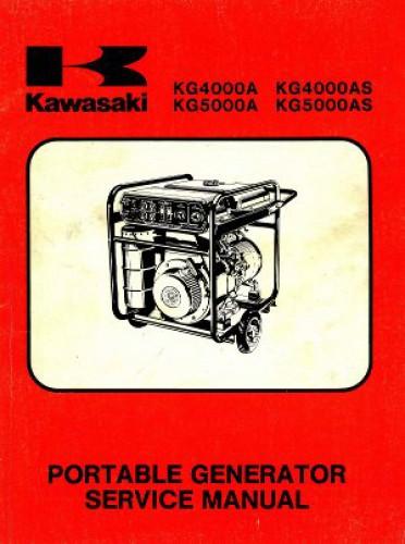 Kawasaki KG4000A KG4000AS KG5000A KG5000AS Portable