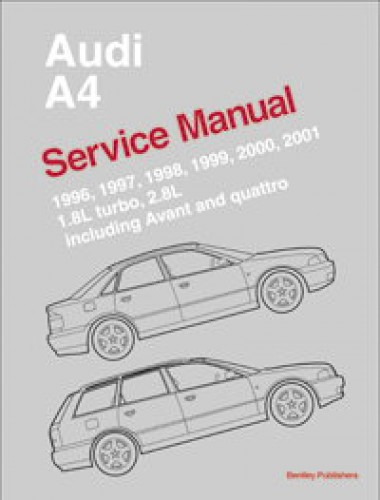 1997 1998 1999 2000 2001 AUDI A4 SERVICE AND REPAIR MANUAL