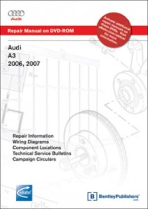 Audi A3 20062009 Repair Manual on DVDROM