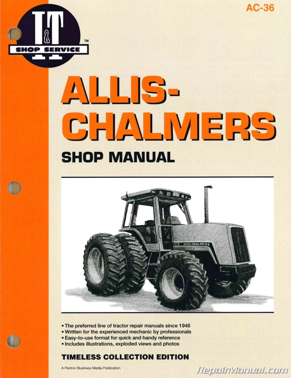 medium resolution of allis chalmers 8010 8030 8050 8070 service manual
