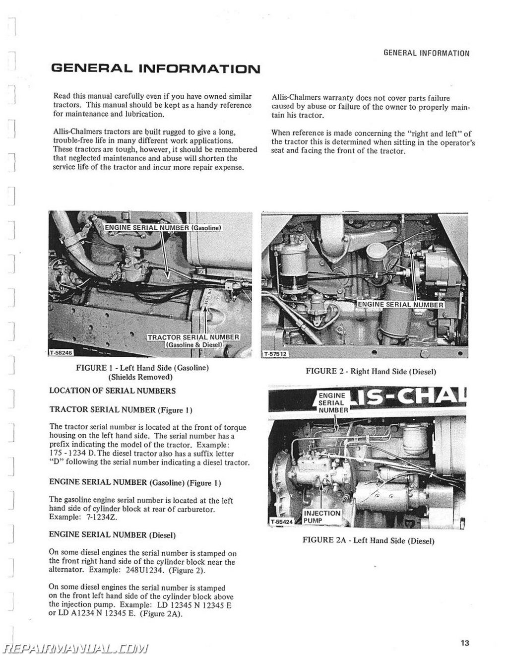 allis chalmers model b wiring diagram brake control engine