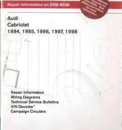 audi cabriolet 1994 1998 repair manual on dvd rom audi 80 cabriolet wiring diagram audi cabriolet wiring diagram [ 1024 x 1413 Pixel ]