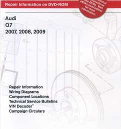 audi q7 2007 2009 repair manual on dvd rom rh repairmanual com audi a4 wiring diagram [ 1024 x 1450 Pixel ]