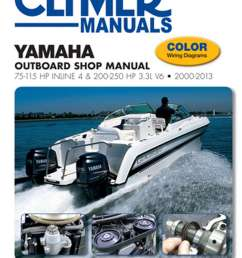 2000 2013 yamaha outboard shop manual 75 115 hp inline 4 and 200 250 hp 3 3l v6 [ 1024 x 1335 Pixel ]