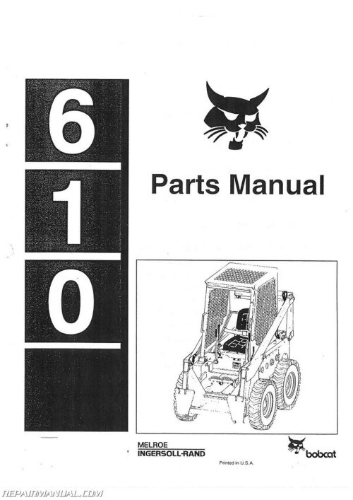 small resolution of bobcat 610 parts manual bobcat 610 parts manual pdf bobcat 610 parts diagram