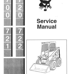 bobcat 700 720 721 722 skid steer service manual jpg [ 1024 x 1449 Pixel ]