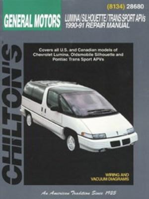 Chilton GM Lumina APV Silhouette Trans Sport Venture 1990
