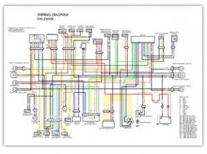 Suzuki DRZ400 Color Wiring Diagrams