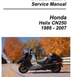 cyclepedia honda helix manual [ 1024 x 1325 Pixel ]
