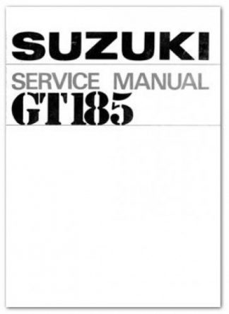 1971-1977 Suzuki TS125 Motorcycle Repair Service Manual