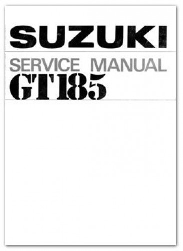 1973-1977 Suzuki GT185 Adventurer Motorcycle Service Manual