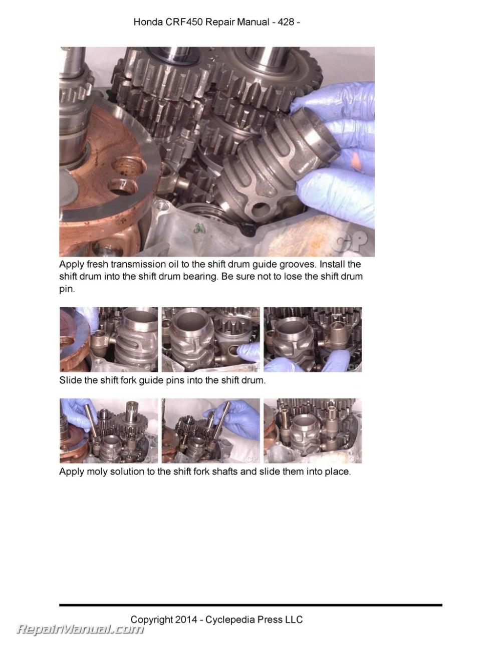 medium resolution of honda crf450r