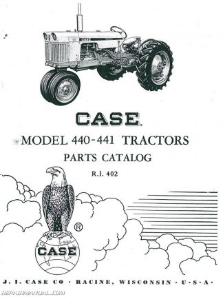 Case 350 Parts Manual
