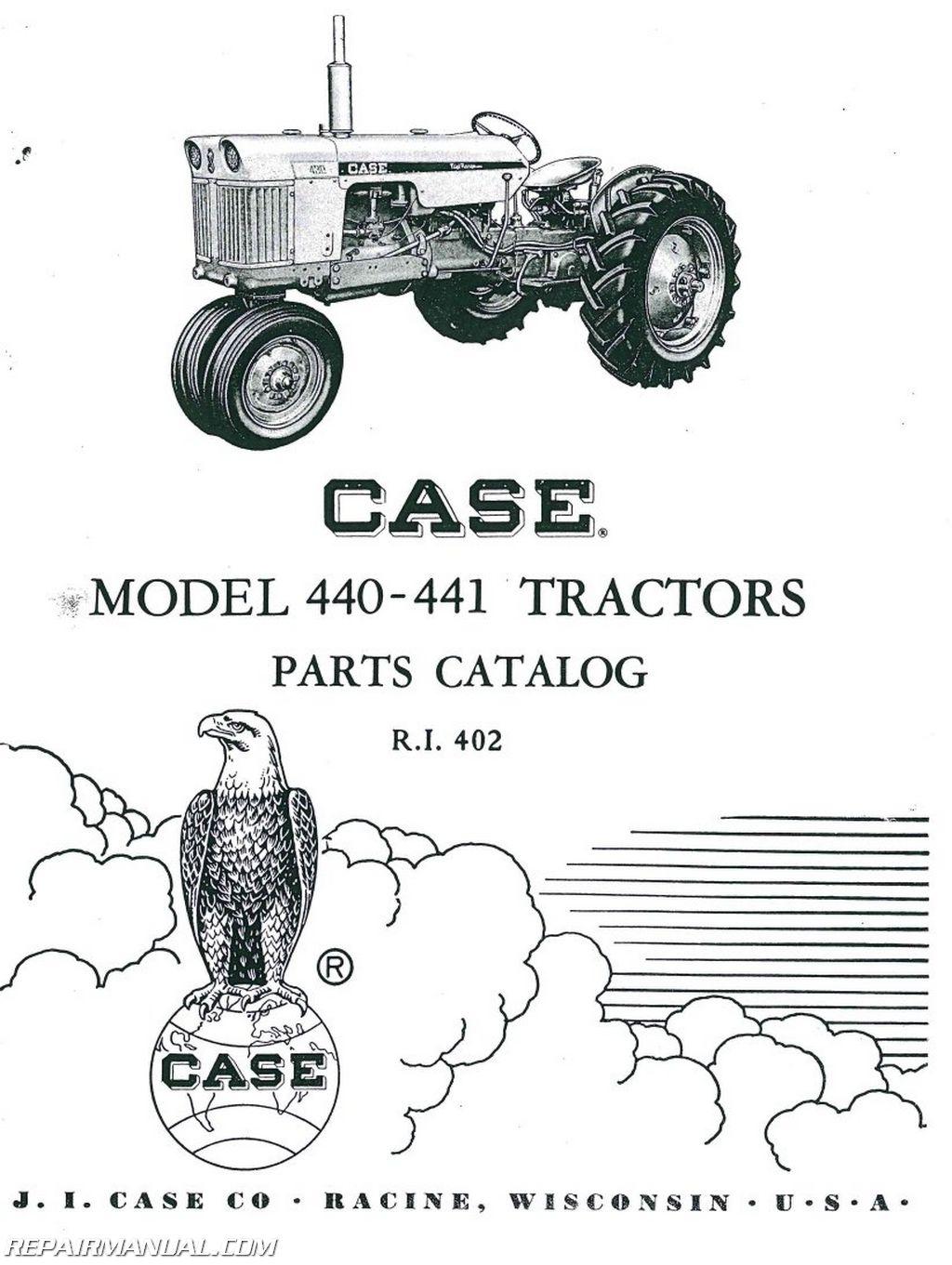 Case 440 441 Parts Manual