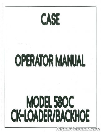 Case-International 480B Service Manual