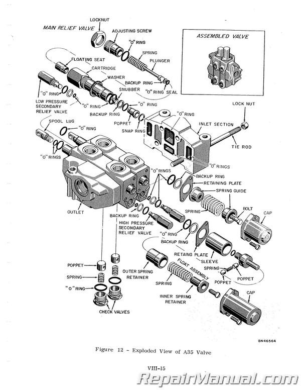 Case David Brown 1000 Industrial Crawler Service Manual