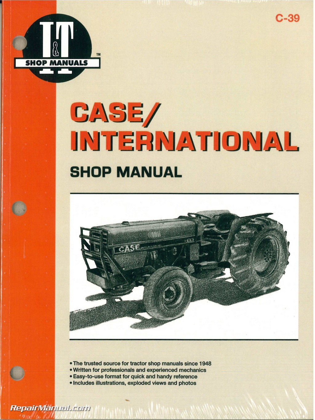 hight resolution of case international 385 485 585 685 885 tractor workshop manual jpg