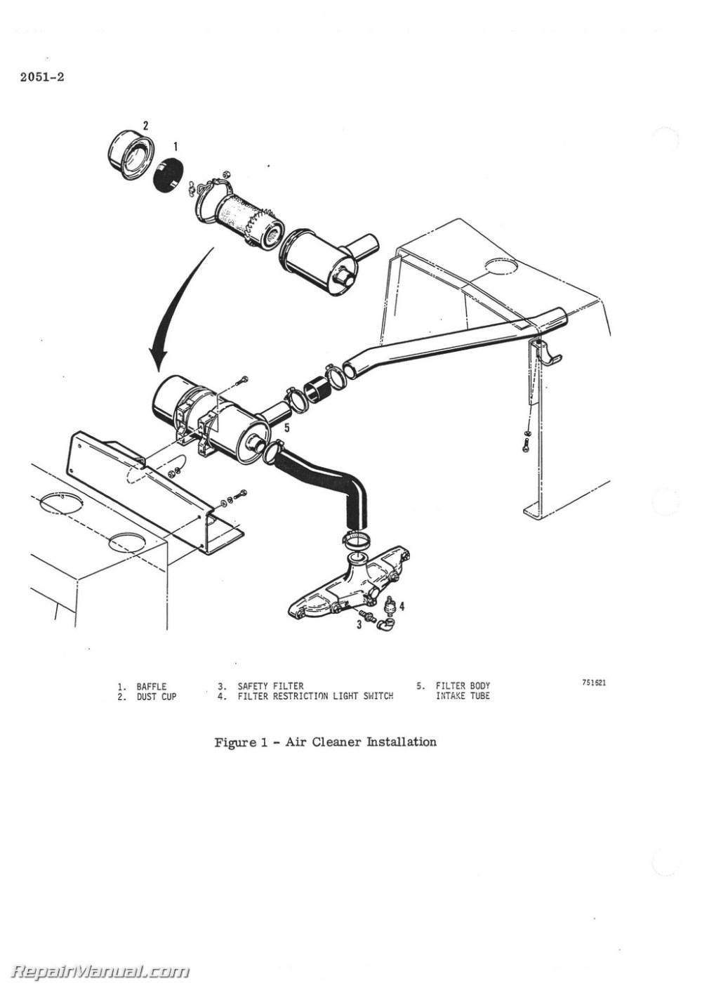 medium resolution of case backhoe fuel filter