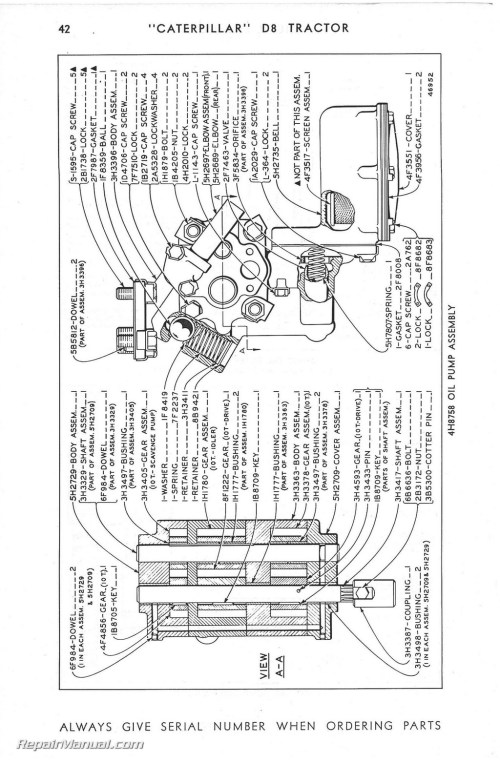 small resolution of cat d8 wiring diagram