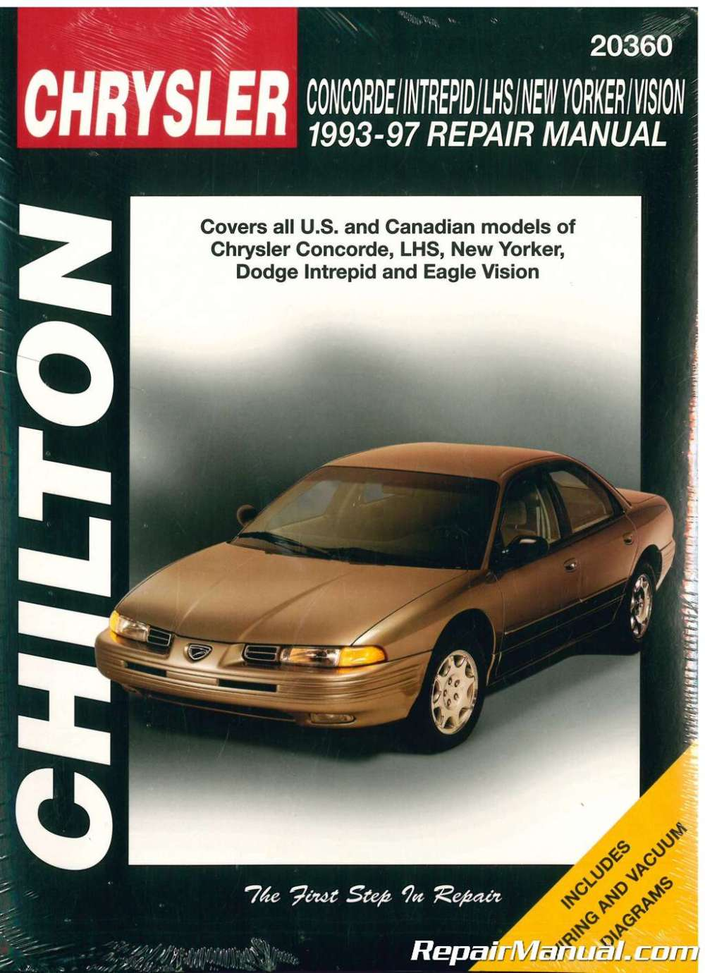 medium resolution of chilton chrysler concorde