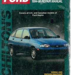 chilton ford aspire 1994 1998 repair manual 1996 ford aspire 1994 ford aspire wiring diagram [ 1024 x 1405 Pixel ]