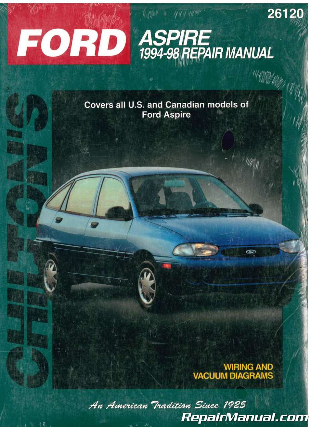 medium resolution of chilton ford aspire 1994 1998 repair manual 1996 ford aspire 1994 ford aspire wiring diagram