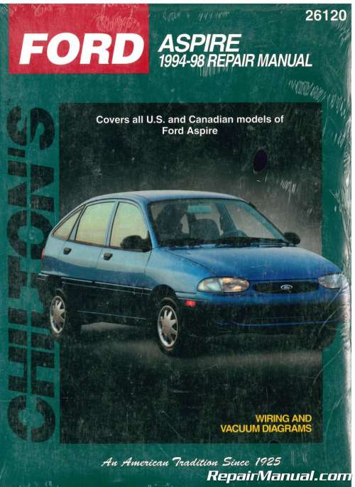 small resolution of chilton ford aspire 1994 1998 repair manual 1996 ford aspire 1994 ford aspire wiring diagram