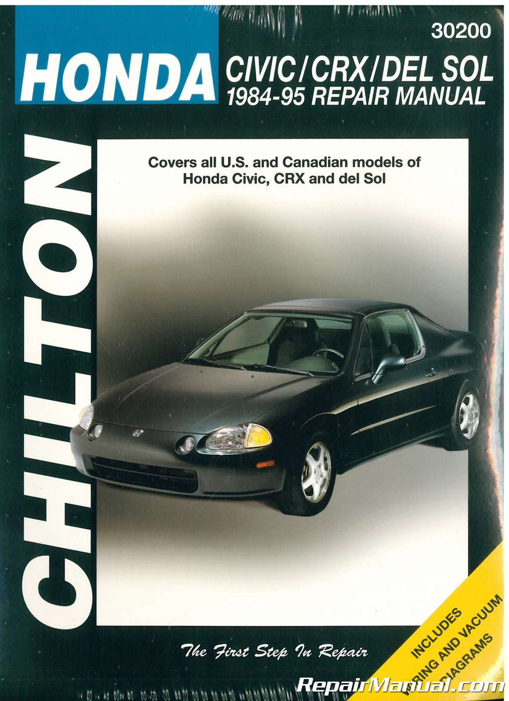 1997 Honda Del Sol Electrical System Wiring Diagram Download
